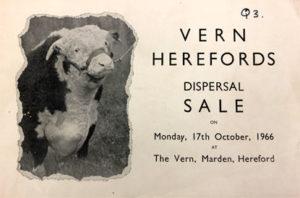 Vern herd dispersal